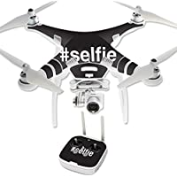 Skin For DJI Phantom 3 Professional – Selfie 2 | MightySkins Protective, Durable, and Unique Vinyl Decal wrap cover | Easy To Apply, Remove, and Change Styles | Made in the USA