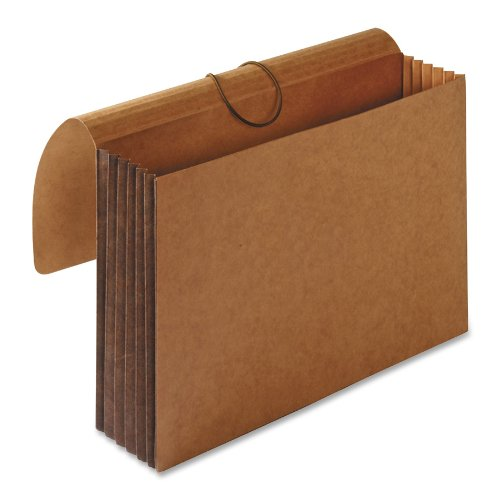 S.P. Richards Company Accordion Wallets, Letter, 5-1/4-Inch Expansion, 12-3/8 x 10 Inches, Brown (SPR26575)