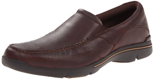Rockport Men's Eberdon Slip-On Loafer- Dark Brown...