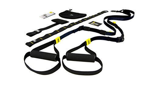 TRX Training – GO Suspension Trainer Kit, Lightest, Leanest Suspension Trainer Ever – Perfect for Travel and Working Out Indoors & Outdoors