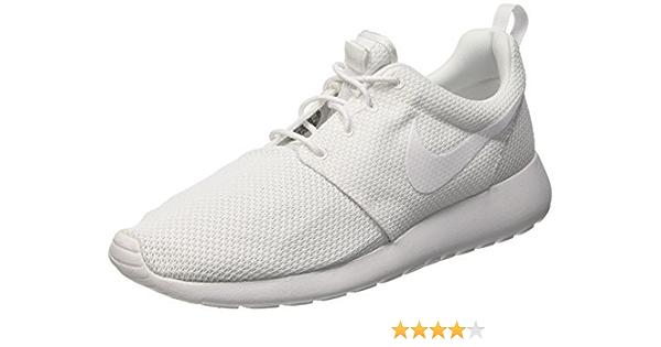 Nike Mens Roshe One Running Shoes White