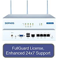 Sophos XG 115W Wireless Next-Gen UTM Firewall TotalProtect Bundle with 4 GE ports, FullGuard License, 24x7 Support - 1 Year