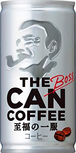 [일본 산토리 보스 캔커피 / SUNTORY BOSS COFFEE] 산토리 보스 THE CAN COFFEE 185g관×30개