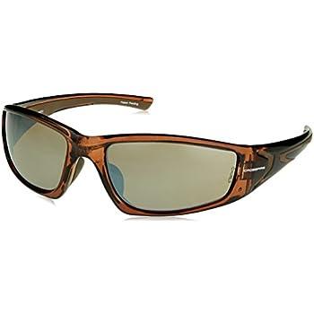 5ae7df23f7 Crossfire 23117 RPG Safety Glasses HD Brown Flash Mirror Lens - Crystal  Brown Frame