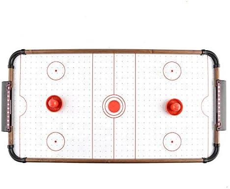 SHMZQ Mini Juego de Mesa Air Hockey, Juego de Mesa para Interior y ...