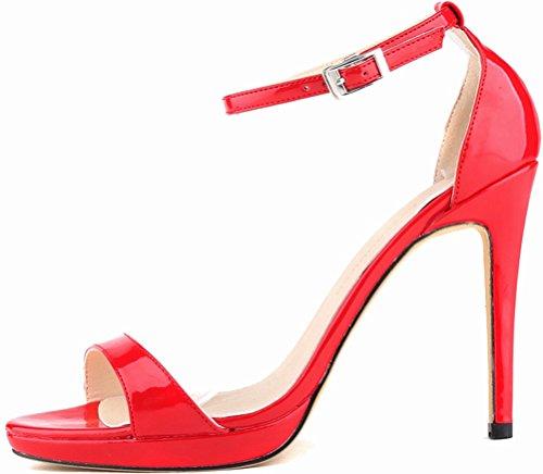 CFP - Zapatos con tacón mujer Red