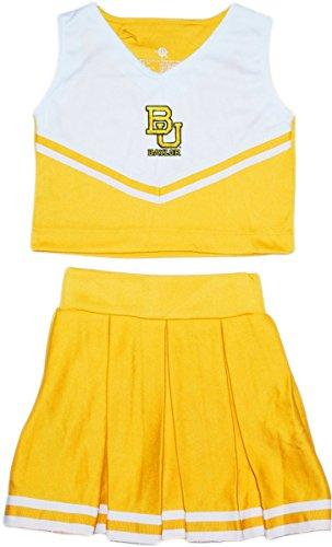 Piece Cheerleader 2 Dress (Creative Knitwear Baylor University 2 Piece Cheerleader Dress)