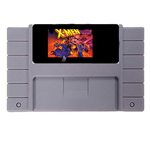 BrotheWiz X-Men Mutant Apocalypse Good Quality 16 Bit Big Gray Game Card ForGame Player