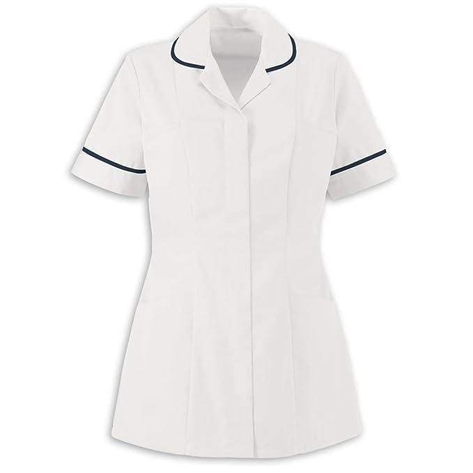 2c78da5054d84 Army And Workwear Ladies Plain Healthcare Nurses Beautician Tunics Uniform  Vet Housekeeper Womens: Amazon.co.uk: Clothing
