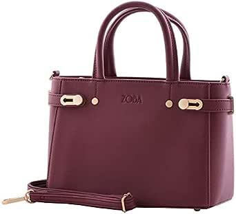 ZOBA Women Handbag with Wallet - Multi Color