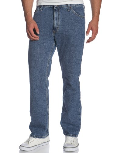 Pepper Regular Fit Jeans Wash - Lee Men's Regular Fit Bootcut Jean, Pepper Stone, 34W x 30L