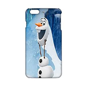 Angl 3D Case Cover cartoon Frozen Phone Case for iphone 6 4.7