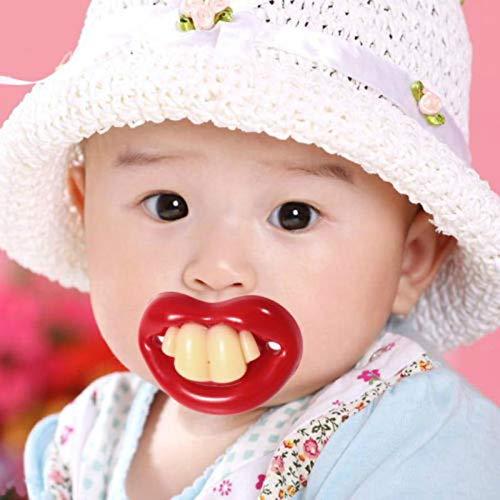 Prenine Pacificador Divertido del bebé, pacificador del bebé ...