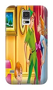 Amazing pattern design tpu phone cover case with cartoon textture for Samsung Galaxy s5 of Peter Pan in Fashion E-Mall by supermalls