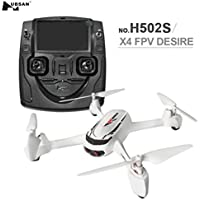 Four-Axis Helicopter Odeer Hubsan X4 H502S 5.8G FPV With 720P Camera GPS Altitude Mode RC Quadcopter RTF White