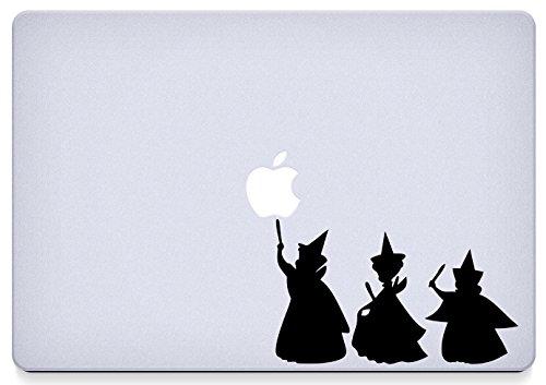 Sleeping Beauty Fairies Macbook Decal (Beauty Decal Sleeping)