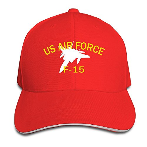 Rojo US béisbol 15 F de Force Air nbsp;Eagle Gorra pnHqp8Fx