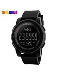 SKMEI Men Multifunction Digital Watches Outdoor Sports Military Watch 50M Waterproof Alarm Wristwatches Relogio