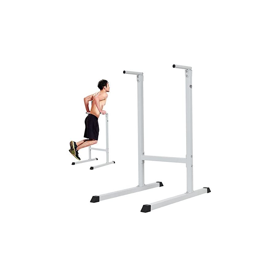 New Dipping station Dip Stand Pull Push Up Bar Fitness Exercise Workout Gym