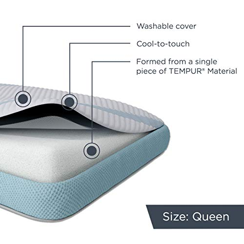 TEMPUR-Adapt ProHi Cooling Pillow Memory Foam Queen 5-Year Limited Warranty