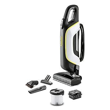 Kärcher VC 5 Premium Sin bolsa Negro, Blanco 500 W - Aspiradora escoba (Sin bolsa, Negro, Blanco, Secar, Alfombra, Suelo duro, 77 dB, 9 m)