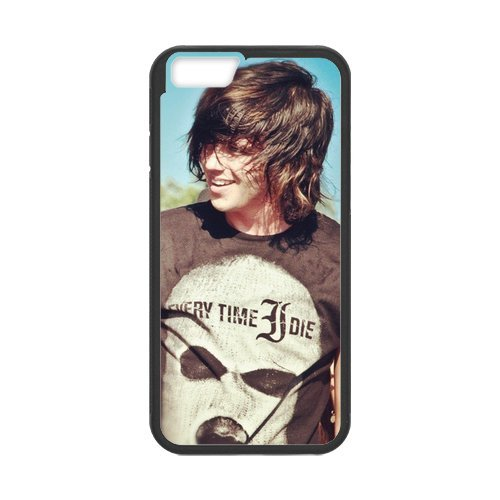 Fayruz- Personalized Protective Hard Textured Rubber Coated Cell Phone Case Cover Compatible with iPhone 6 & iPhone 6S - Sleeping with Sirens Kellin Quinn F-i5G1101