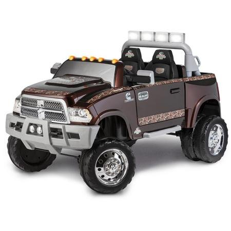 Dodge-Ram-3500-Dually-Longhorn-Edition-12-Volt-Battery-Powered-Ride-On-Mossy-Oak-by-Kid-Trax