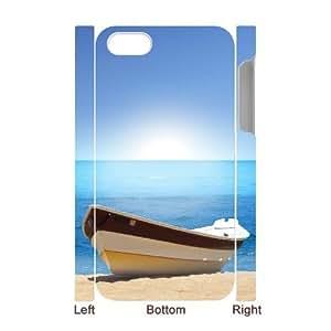 3D Bumper Plastic Case Of Island Beach customized case For Iphone 4/4s