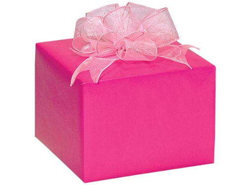 Hot Pink Gloss 24''x417' Roll Gift Wrap (Unit Pack - 1) by Better crafts
