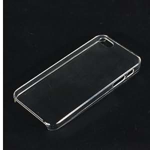 Crystal Clear Diseño de plástico duro Volver Funda para el iPhone 5 5G 5S