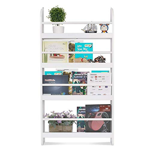 Homfa Kids Bookshelf 4-Tier