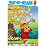 It is Thank You Day! Join Daniel Tiger& his friends as they put special notes on the Thank You tree! Who will Daniel decide to thank with his note? Daniel Tiger Pre-level 1 Ready-to-Read series includes Daniel Plays Ball, Visits the Library, Frie...
