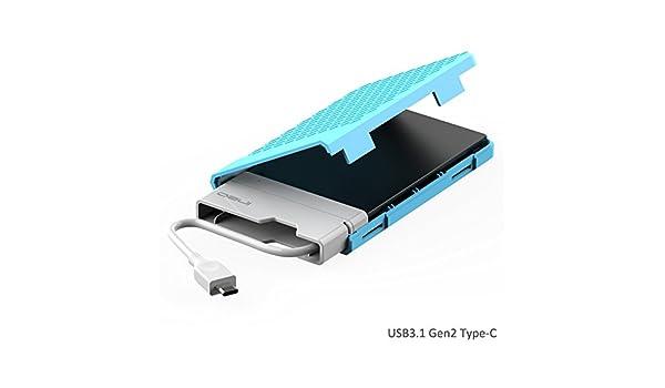 Carcasa con USB 3.1 Gen2 para Disco Duro Externo de 2.5