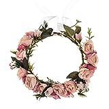 Vividsun Adjustable Flower Crown Floral Headpiece