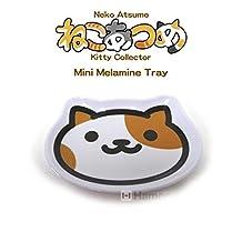 Neko Atsume Kitty Collector Die Cut Mini Melamine Tray (Buchi-san / Patches)