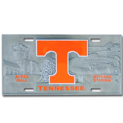 Tennessee Volunteers College Collector's - Pewter License Plate Shopping Results