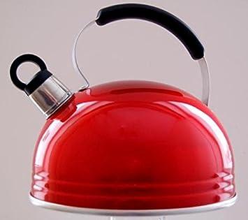 Rojo Cocina de gas estufa eléctrica casa cocina: Amazon.es: Hogar