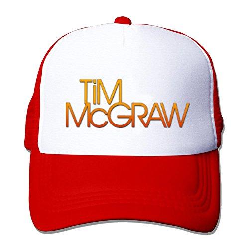 Adult Tim Mcgraw TM Baseball Hat Mesh Back Trucker Adjustable (5 colours)