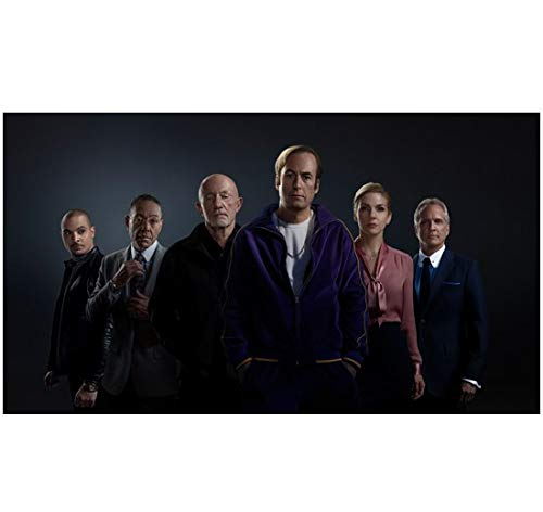 Better Call Saul Bob Odenkirk as Jimmy McGill Posing with Cast 8 x 10 Inch Photo