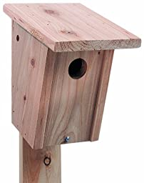 North States Deluxe Wood Bluebird House