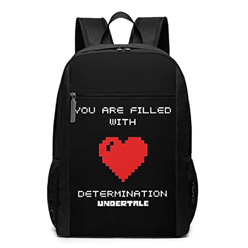 Nyanhif Funny Fashion Adult You Are Filled With Determination Stamp \r\n Backpacks Black