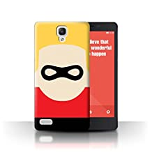STUFF4 Phone Case / Cover for Xiaomi Redmi Note 4G / Mask Character Design / Cartoon Super Hero Art Collection
