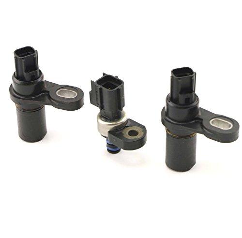 QKPARTS 3pcs Updated Pressure Transducer Sensor Kit Input Output 45RFE 545RFE 68RFE
