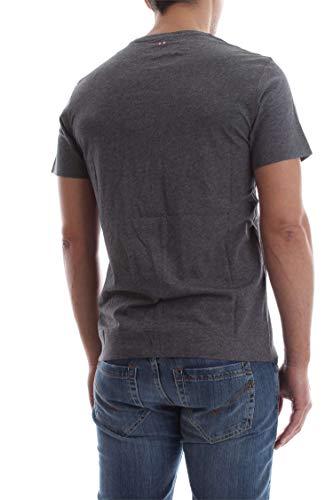 shirt T Gris Mens Foncé Shew Napapijri aqCwUU