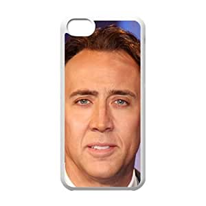 iPhone 5c Case Image Of Nicolas Cage YGRDZ26796 Phone Case Cover Hard Personalized