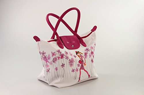Tupperware Borsa Shopper Pink Lady borsa della spesa