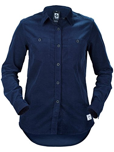 Sweet Protection Mujer Cord Camiseta azul medianoche