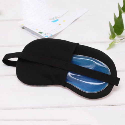 Hot & Cold Therapy Gel Eye Mask Sleep Mask, Good for Bedtime, Napping, Travel, Puffy Eyes & Dark Circles by YOLI® (Image #2)