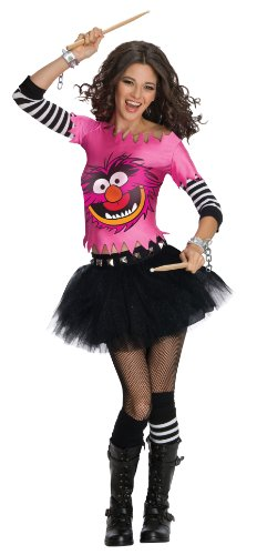 Muppets Animal Costume (Secret Wishes  The Muppets Animal Costume Dress, Pink, Medium)