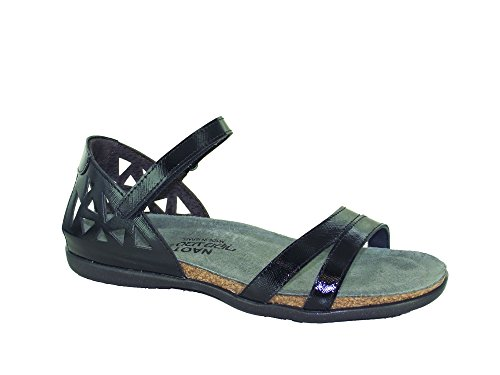 NAOT Bonnie LUSTER Footwear Womens BLACK Shoes Black arxa6qwHZ